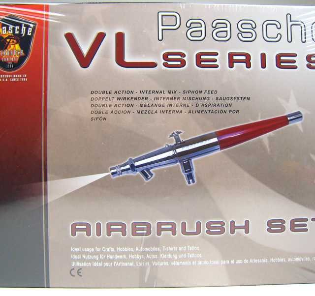 AIRBRUSH SET VL SERIES DOUBLE ACTION Thumbnail