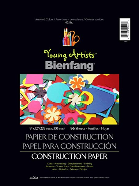 BIENFANG CONSTRUCTION PAPER YOUNG ARTIST 9
