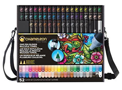 COMPLETE ALCOHOL BASED INK 52 PEN SET Thumbnail